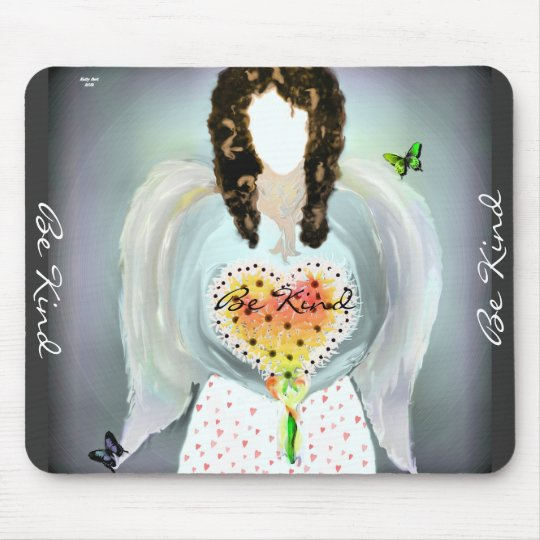 Angel Of Kindness Mouse Pad