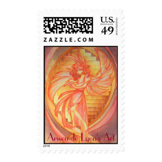 Angel of Life Postage Stamp