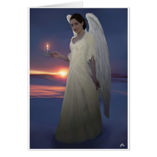 Angel of light card
