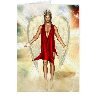 Angel of Light donated by Tabitha Jones Greeting Card