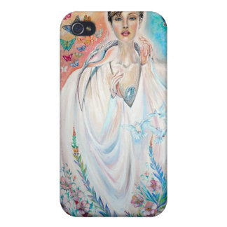Angel of Light iPhone 4 Cases