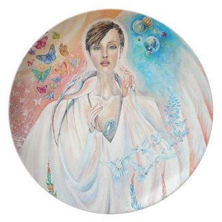 Angel of Light Party Plates