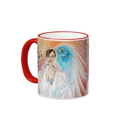 Angel of Light Ringer Mug