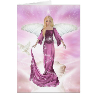 Angel of Love - PINK Edition Card