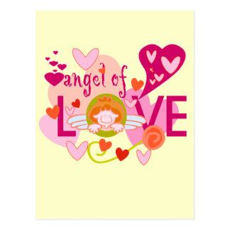 Angel of Love Valentine Post Cards