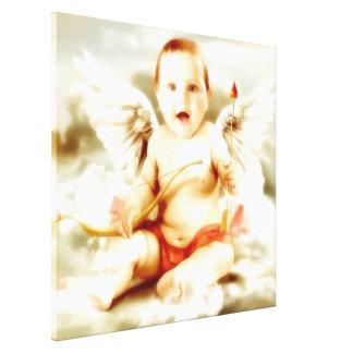 Angel of love Valentine st valentine vintage Stretched Canvas Prints