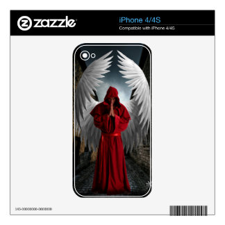 Angel of mercy iphone Skin iPhone 4S Decals