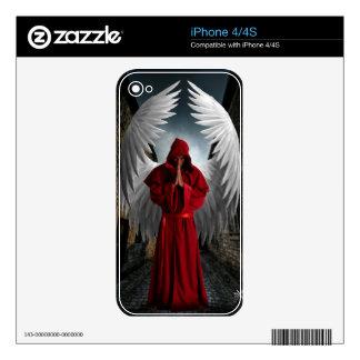Angel of mercy iphone Skin iPhone 4S Decals