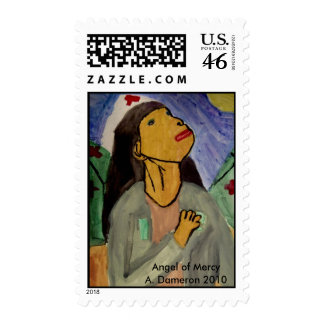 Angel of Mercy Stamps