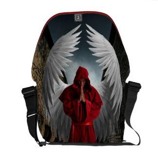 Angel of Mercy Rickshaw Messenger Bag