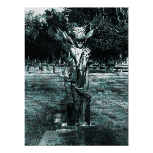 Angel of Mine Blurs The Line Print