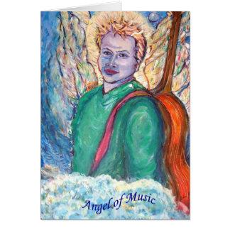 Angel of Music Card