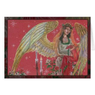 Angel of Noel Greeting Card