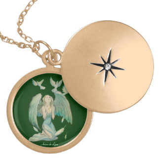 Angel of Peace 2 Necklace