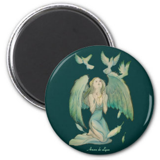 Angel of Peace 2 Refrigerator Magnet