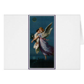 Angel of peace, above a city (1901) card