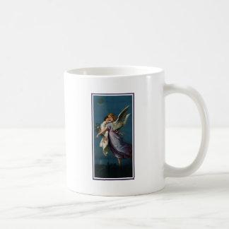 Angel of peace, above a city (1901) coffee mug