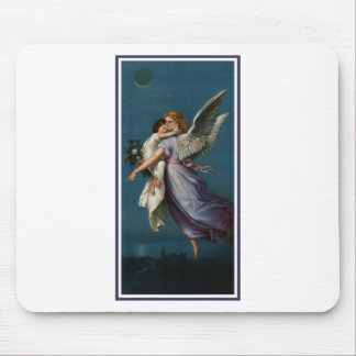 Angel of peace, above a city (1901) mouse pad