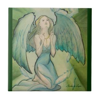 Angel of Peace Ceramic Tile