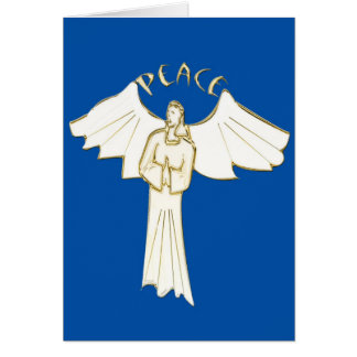 Angel of Peace donated by Denise Beverly Greeting Card