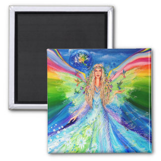 Angel of Peace Refrigerator Magnets