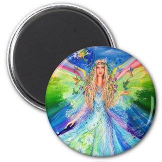 Angel of Peace Refrigerator Magnet
