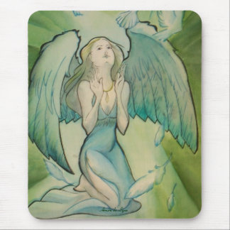 Angel of Peace Mouse Pad