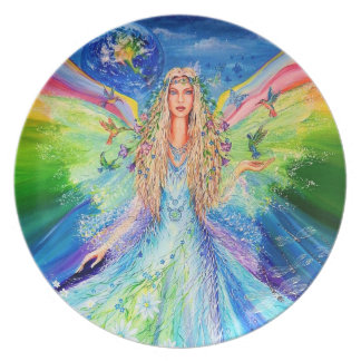 Angel of Peace Plate