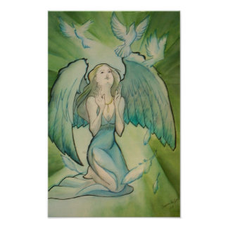 Angel of Peace Posters