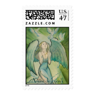 Angel of Peace Stamp
