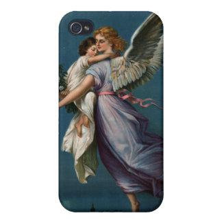 Angel of peace vintage design (1901) iPhone 4 case