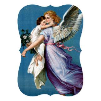 Angel of Peace Vintage Poster Restored Card