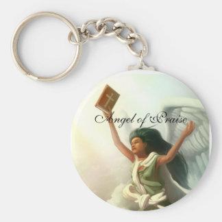 Angel of Praise Keychain