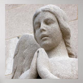 Angel of Prayer Poster