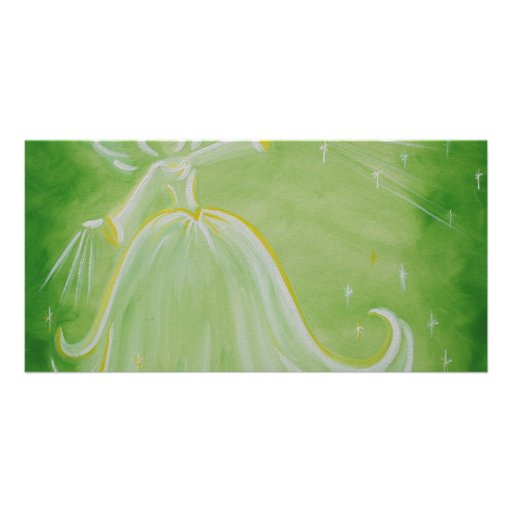 Angel of Prosperity Products Personalized Photo Card