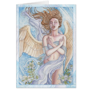Angel of Purity Greeting Card