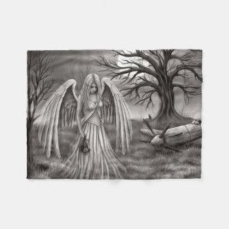 Angel of Souls Fleece Blanket