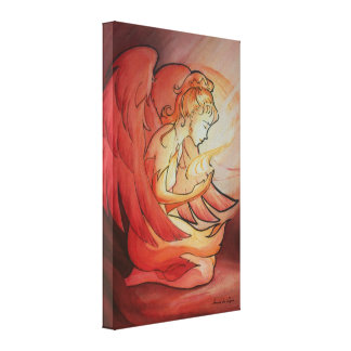 Angel of Spirit Stretched Canvas Print