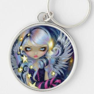 """Angel of Starlight"" Keychain"