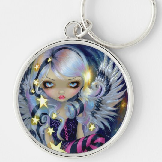 """Angel of Starlight"" Keychain"