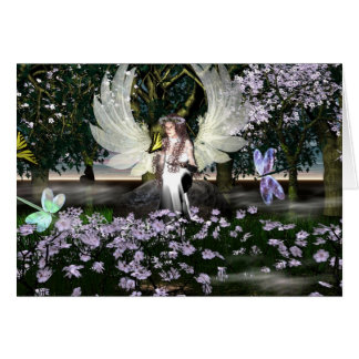 Angel of Thankfulness Greeting Card