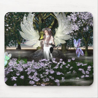 Angel of Thankfulness Mouse Pad