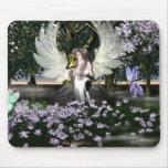 Angel of Thankfulness Mousepads