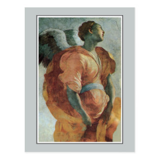 Angel of the Annunciation by Jacopo da Pontormo Postcard