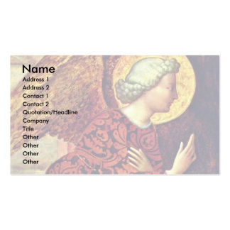 Angel Of The Annunciation By Masolino (Best Qualit Business Cards
