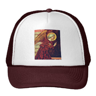 Angel Of The Annunciation By Masolino (Best Qualit Hats