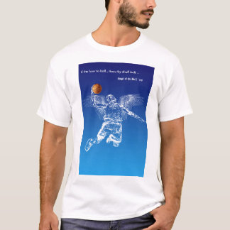 Angel of the Ball ' ers T-Shirt