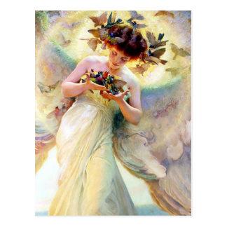 Angel of the Birds Postcard