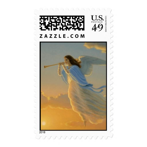 Angel of the Dawn Stamp