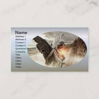 Angel of the Misfortunate Business Card